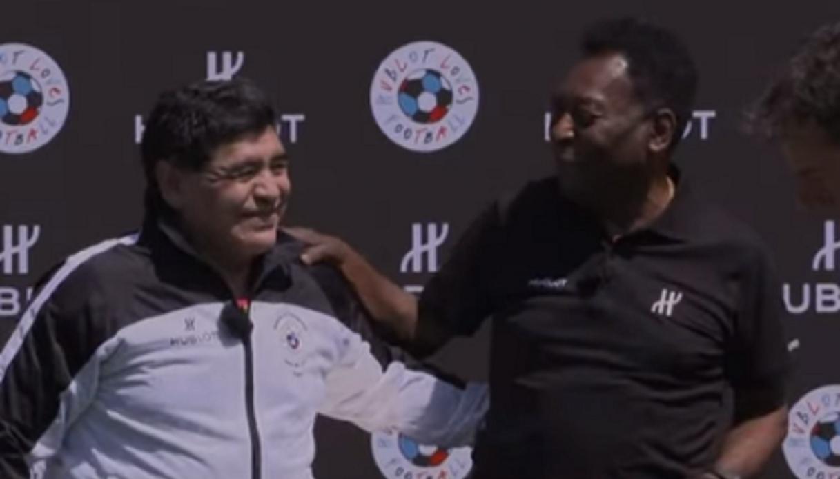 Addio a Maradona, Pelé è sconvolto
