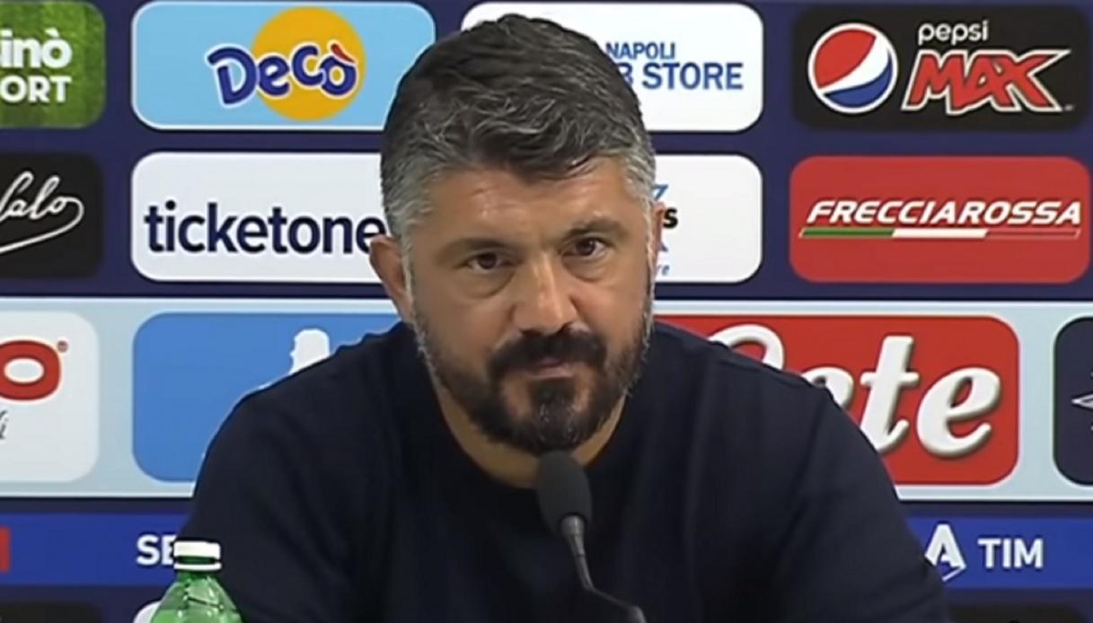 """Napoli, Gattuso: """"Non ho massacrato nessuno"""""""