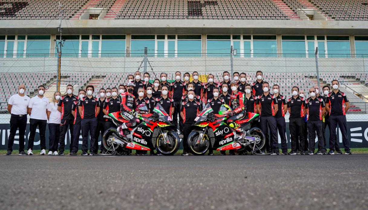 MotoGp 2021: l'Aprilia fa una prima scelta