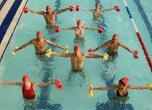esercitarsi in piscina