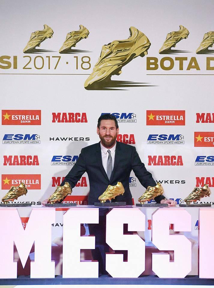 messi scarpa d'oro