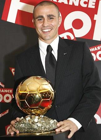 cannavaro pallone d'oro