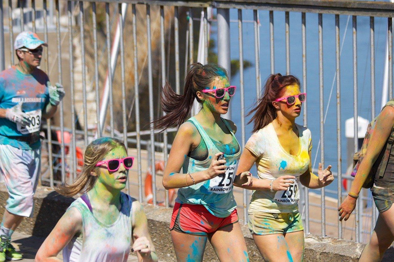 correre per divertirsi