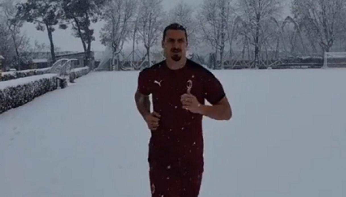 """Ibrahimovic: """"Serve coraggio per vincere lo scudetto"""""""