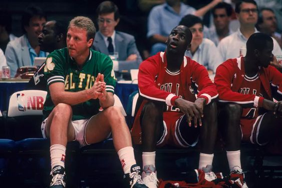 larry bird e mj