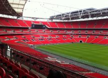 Wembley Stadium al suo interno