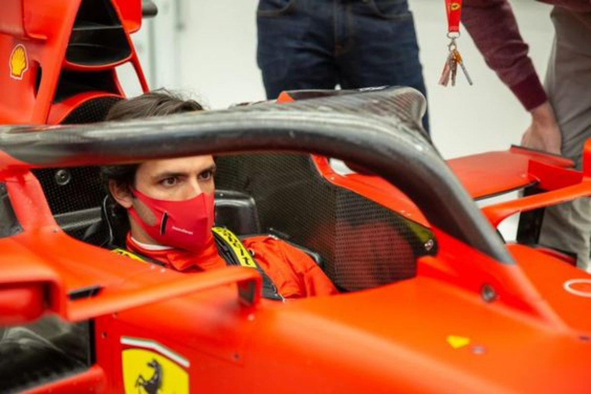 Sainz Jr Ferrari