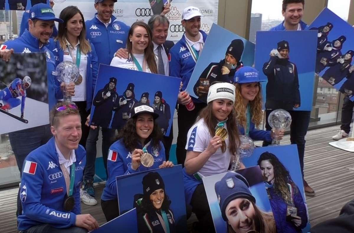 Sofia Goggia domina a St. Anton e fa una dedica speciale