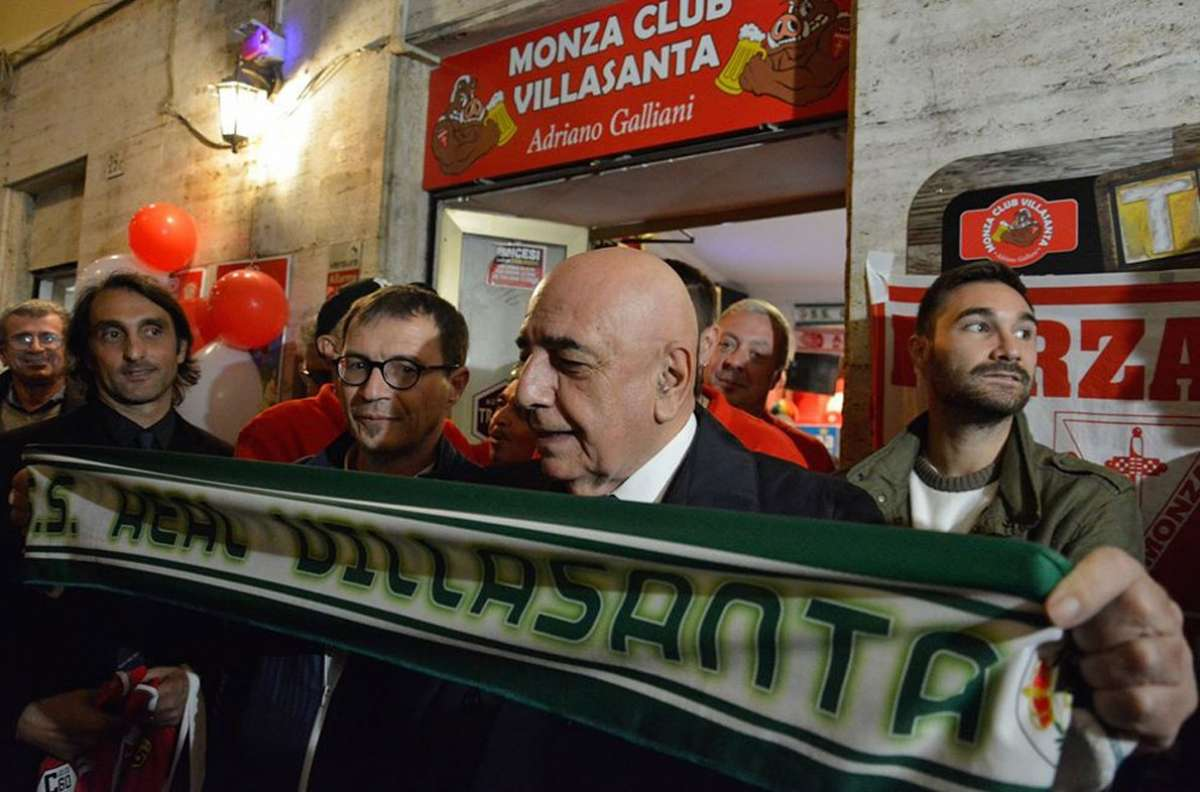 Galliani, altro regalo a Brocchi