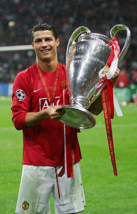 ronaldo united 2008