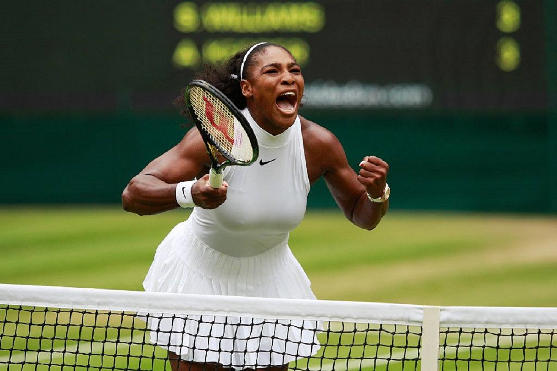 la storia di serena williams