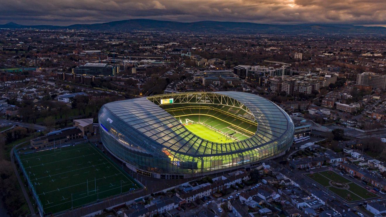 Dublin Arena, la storia dello stadio irlandese: dal 1872 a oggi