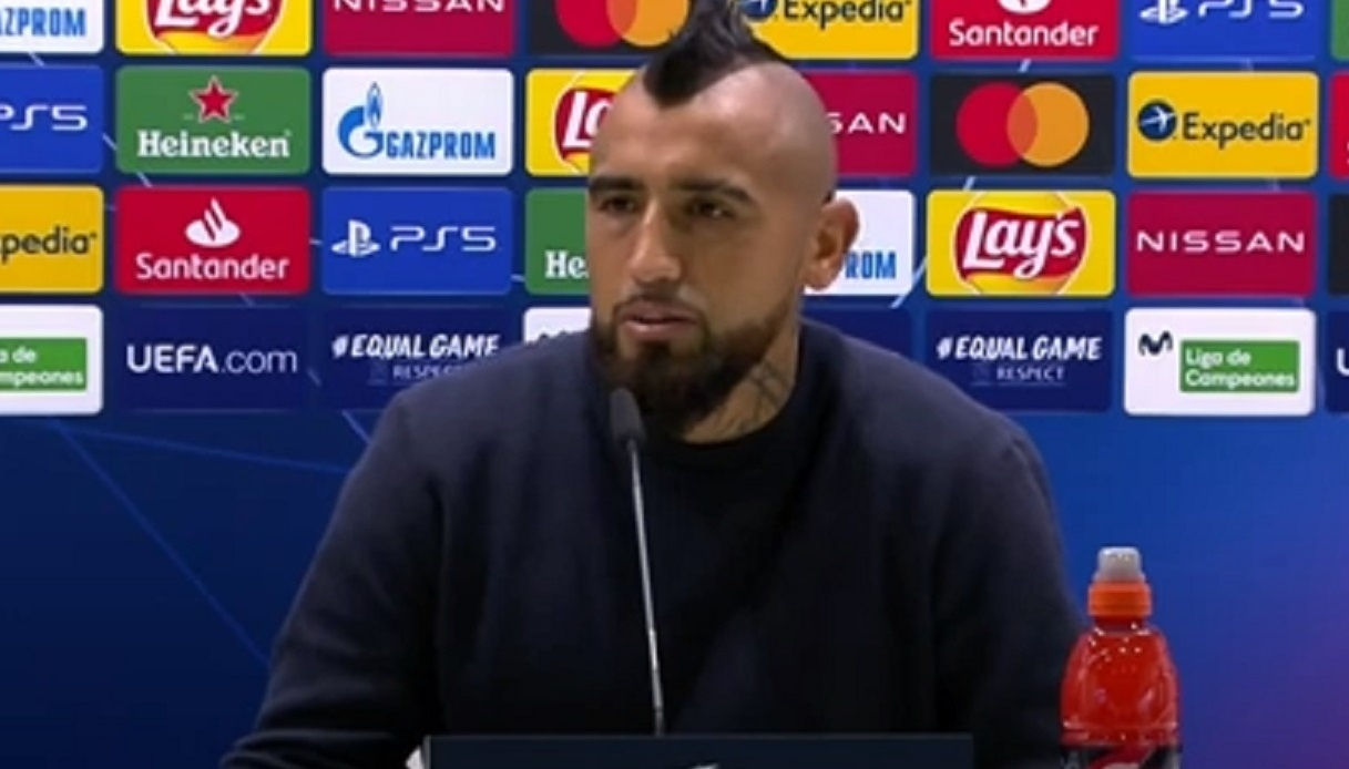 Vidal, intervento perfettamente riuscito