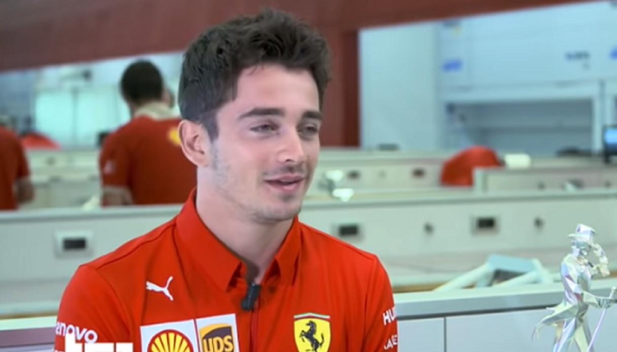 """Ferrari, Leclerc: """"Tra me e Sainz non c'è un numero uno"""""""