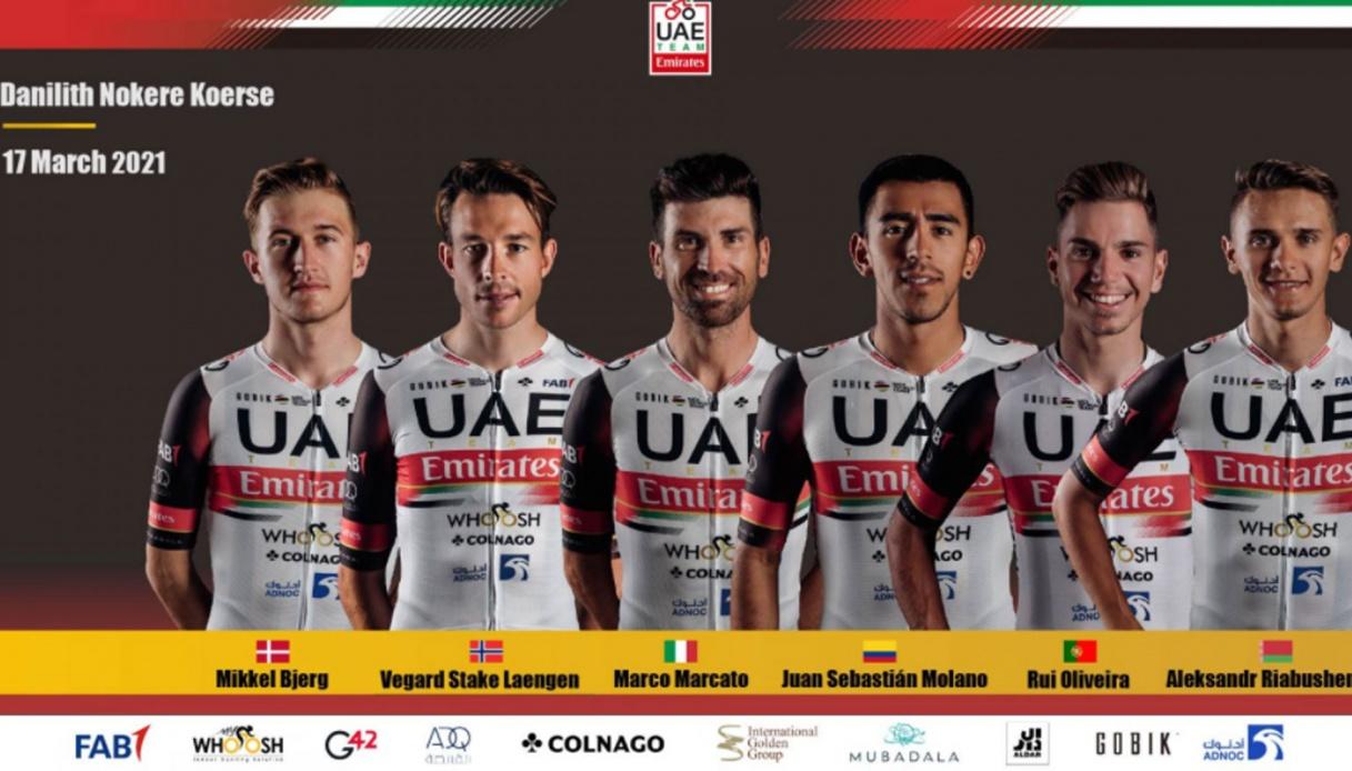 I prossimi impegni per l'UAE Team Emirates