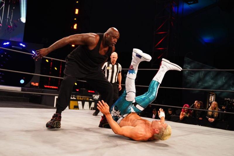 shaq wrestling