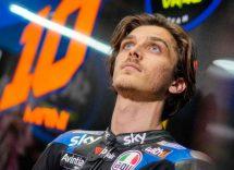La prima volta di Luca Marini a Portimao in MotoGp