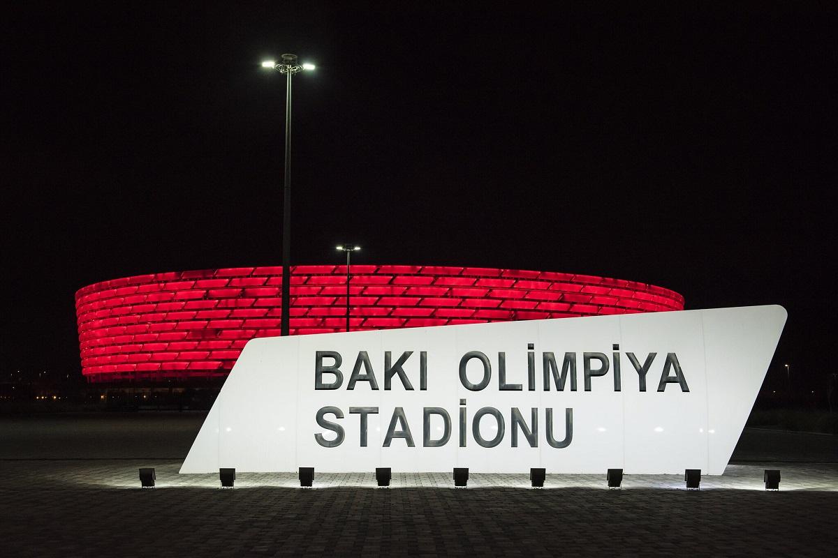 stadio olimpico di baku