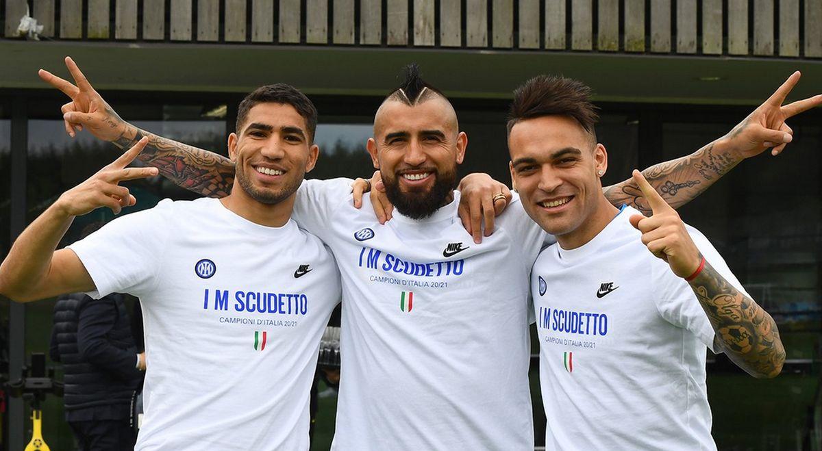 Inter festa scudetto Appiano Gentile