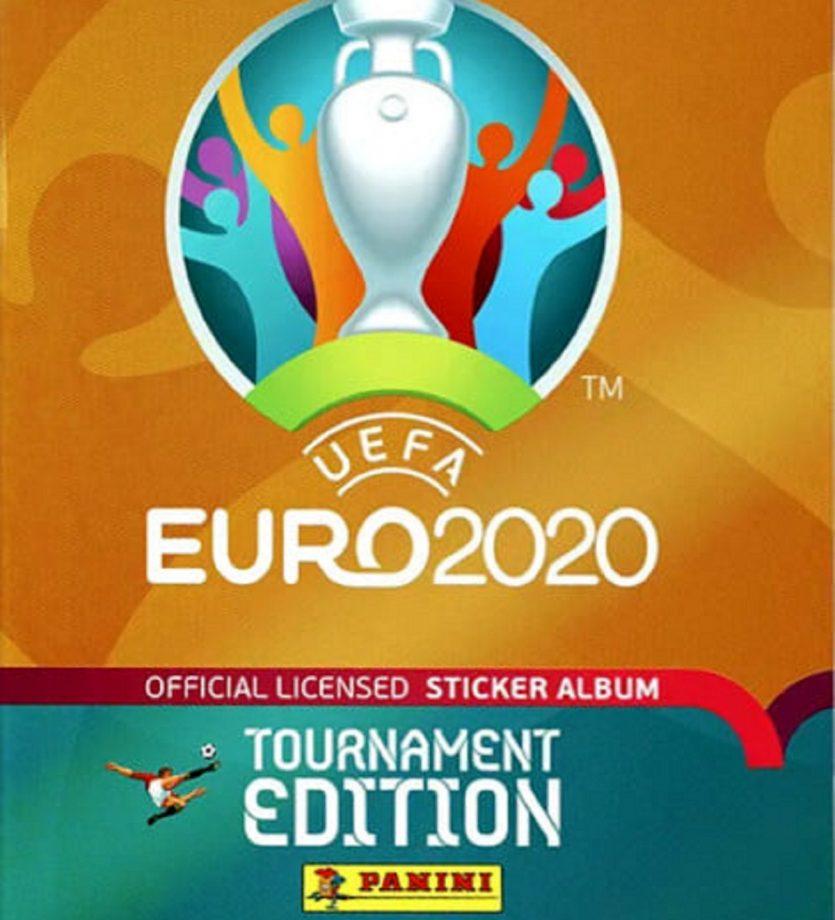 album panini euro 2021