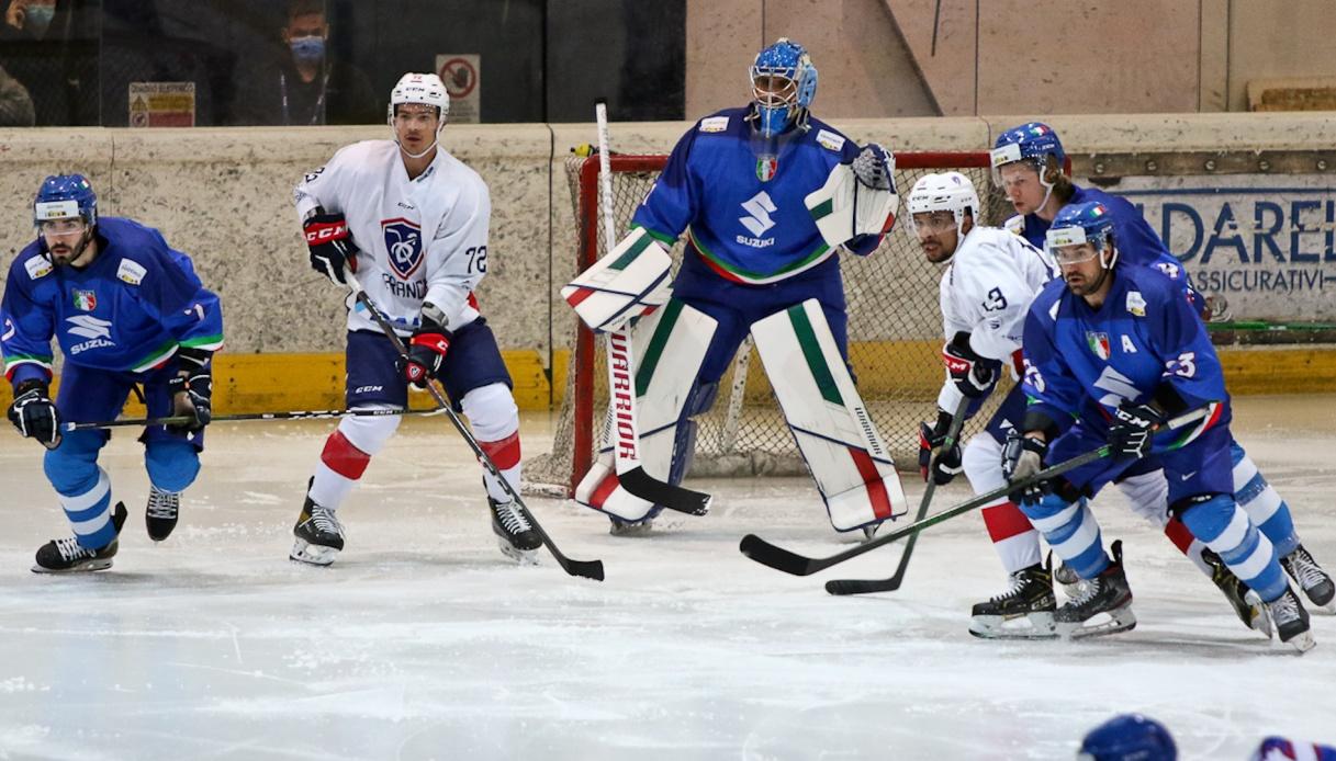 Hockey su ghiaccio: 10 nuovi casi di positività per la nazionale italiana