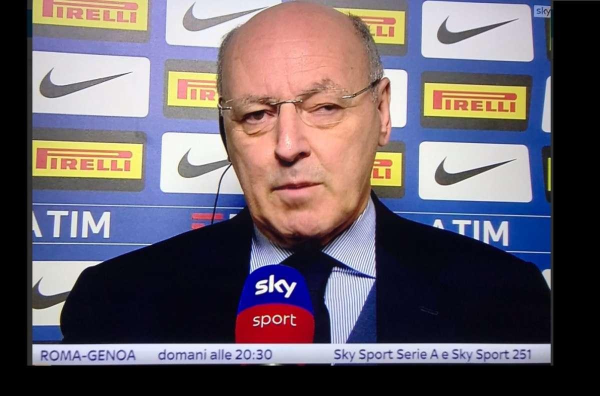 """Marotta: """"Inter, era necessario nuovo progetto"""""""