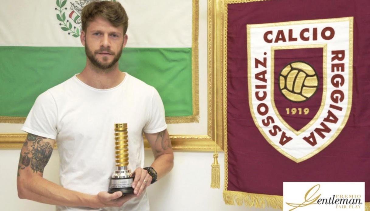 Andrea Costa premiato dalla Lega Serie B