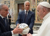 La Federazione Italiana Pallacanestro incontra Papa Francesco