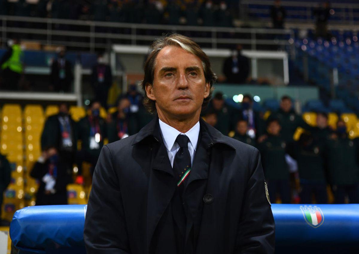 Italia allenatore Mancini