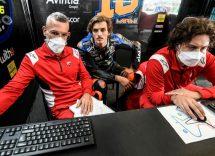 Luca Marini aspetta una risposta dalla Michelin