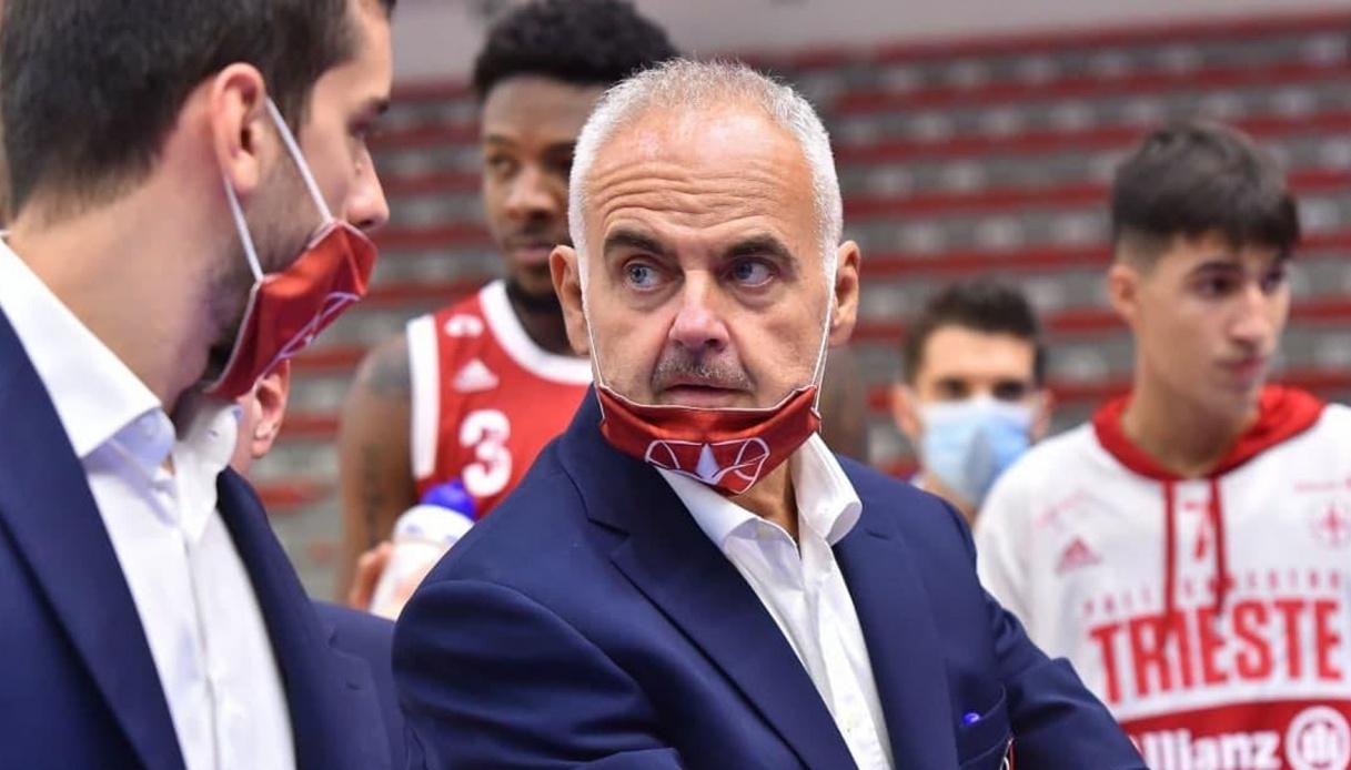 Franco Ciani nuovo head coach dell'Allianz Pallacanestro Trieste