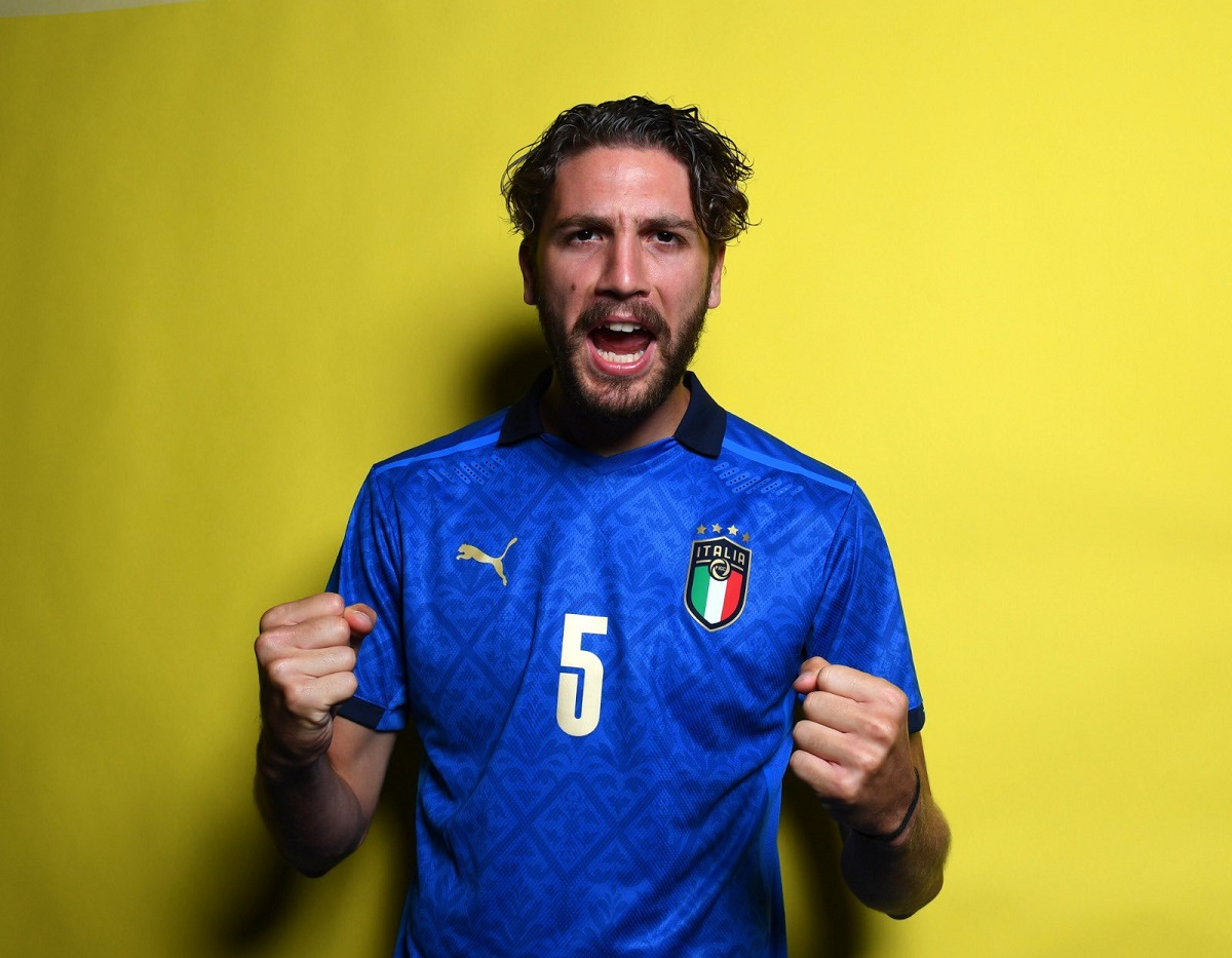 locatelli numero maglia europei italia