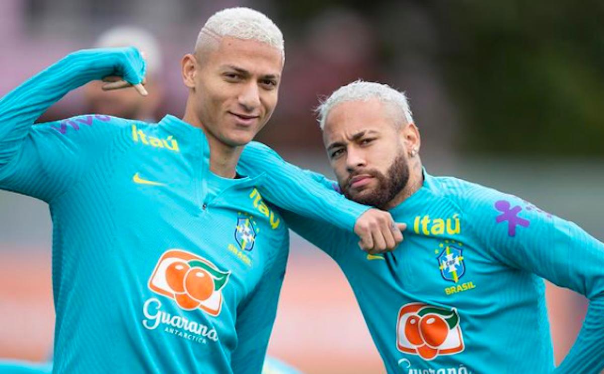 neymar e richelison tagli di capelli dei calciatori