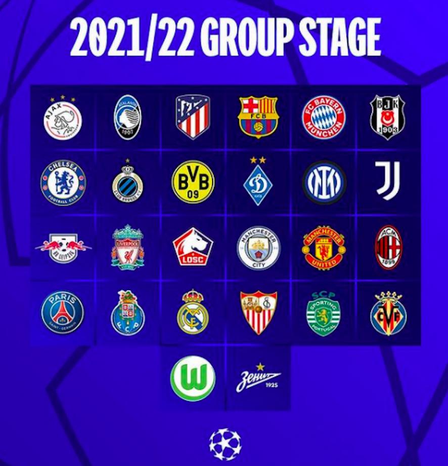 champions league calendario tv