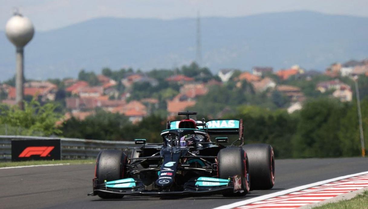 Lewis Hamilton: pole-position in Ungheria