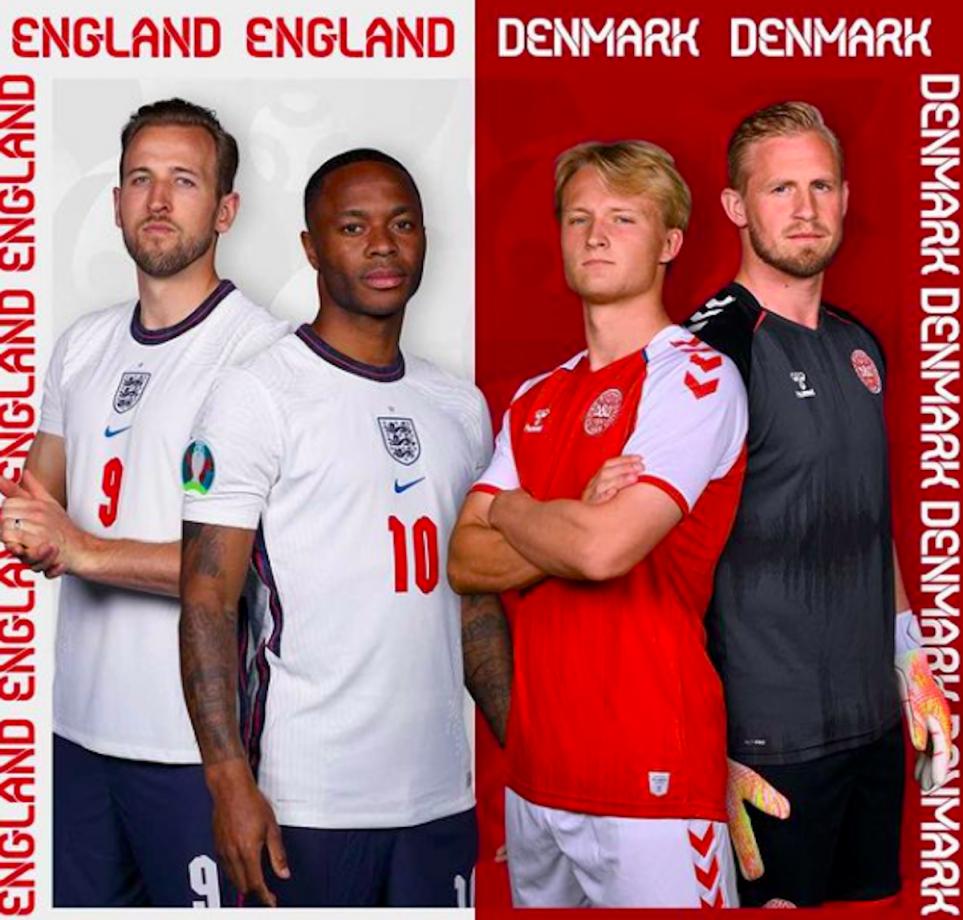 Euro 2020, i precedenti tra Inghilterra e Danimarca: statistiche e numeri