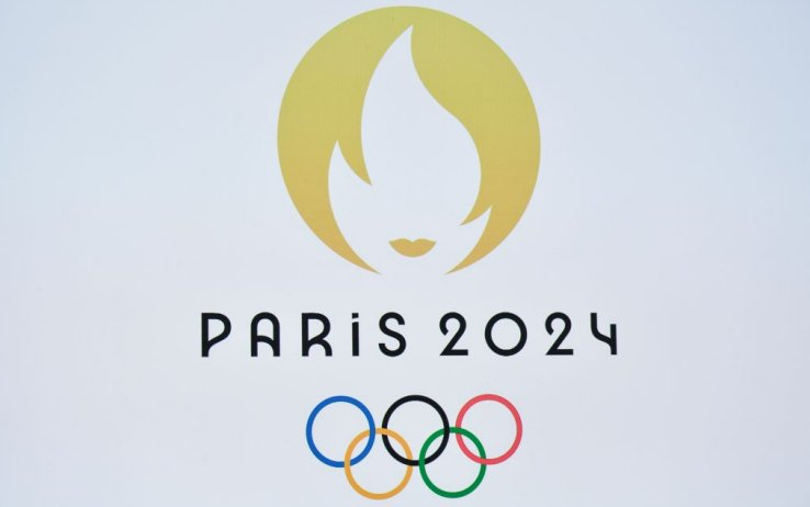 logo olimpiadi parigi 2024