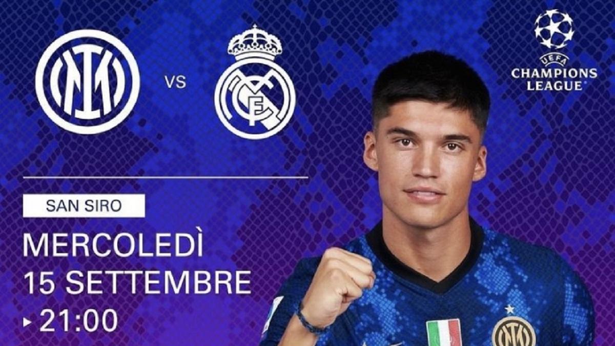 Inter Real Madrid dove vederla