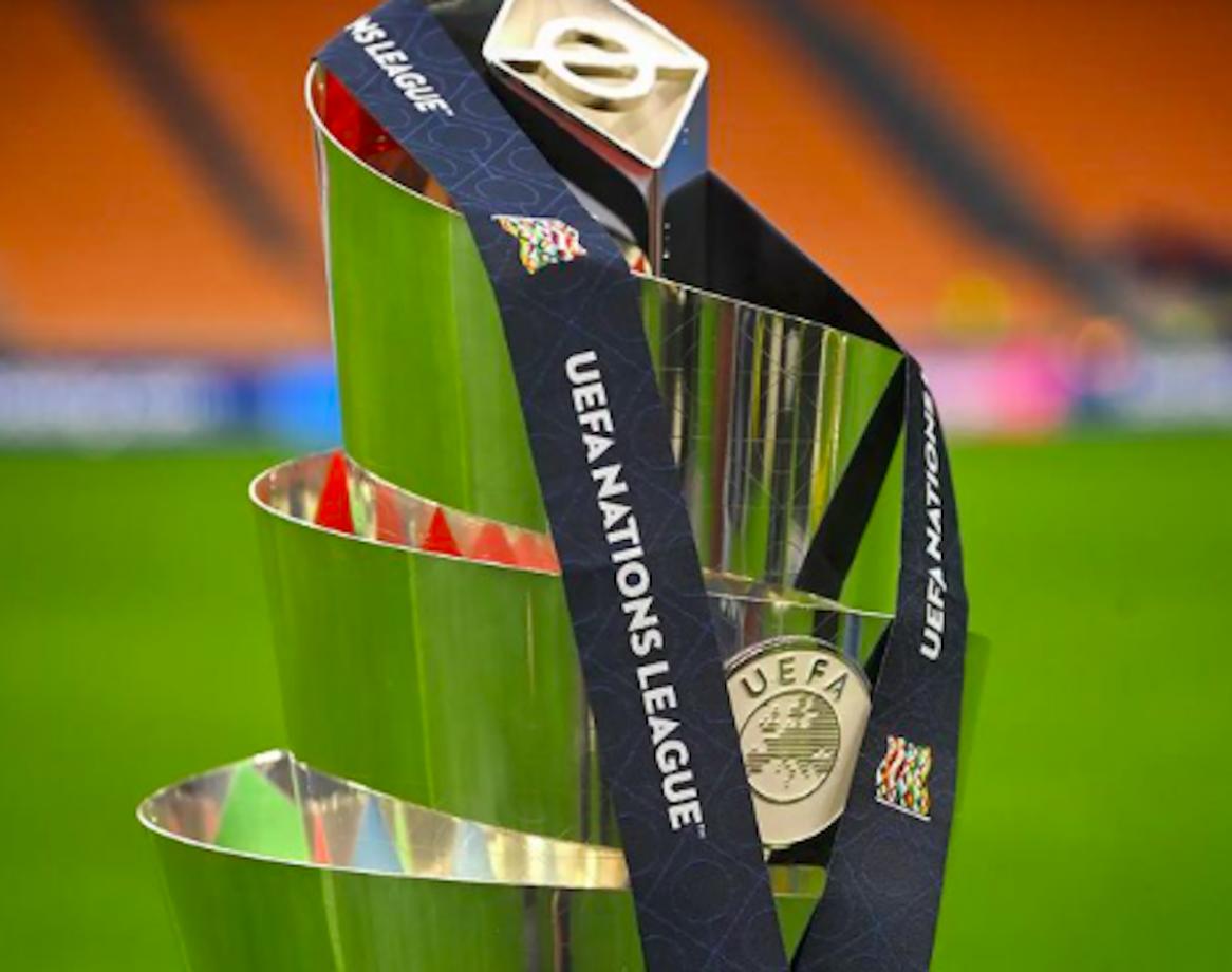 Il trofeo della Nations League